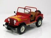 1:18 JEEP CJ-7 Renegade 4х4 1976 Red - MCG18110
