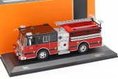 1:43 SEAGRAVE Marauder II 'Pelham Fire Department' 2007 Red/Black - TRF003