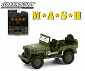 1:64 JEEP Willys 4x4 1942 (из т/с 'M.A.S.H.') - 44900A