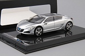 1:43 PEUGEOT RC Hybrid 4, silver - 472728