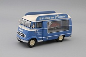 1:43 MERCEDES-BENZ L319 Bella, blue / beige - 11025